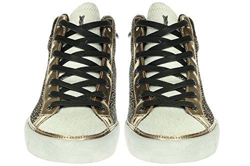 Crime London, Sneaker donna multicolore multicolore Beige
