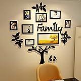 GuoEY Photo Wall Acrilico 3D Wall Sticker Albero Creativo Photo Wall Stickers Living Room Divano Sfondo Muro TV Decorazione Della Parete (Colore : D)