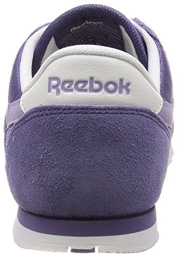 Reebok Cl Nylon Slim Colors, Chaussures de running femme Violet (purple Slate/lavendar Grey/chalk/white)