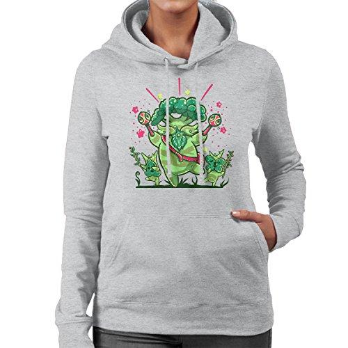 Shalaka Dance A Breath Of The Wild Legend Of Zelda Women's Hooded Sweatshirt Heather Grey