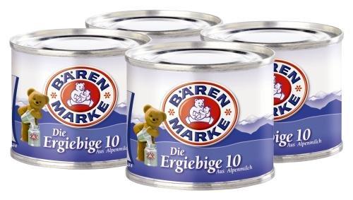 Bärenmarke Die ergiebige 10, 24er Pack (24x 80g Packung)