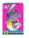 Vanish Lingette Anti-Transfert de Couleur Boîte de 20 Lingettes