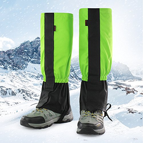 Housse de chaussures étanche Chaussures imperméables à l'eau universelles couvre la jambe de protection de protection anti-neige anti-sable Legging Gaiters Bottes hautes