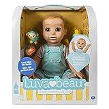 Luvabella 6046016 - Luvabeau, interaktive Jungen-Puppe mit Sprachfunktion - DEUTSCHE Version