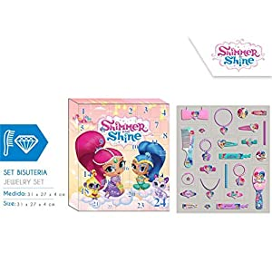 SHIMMER AND SHINE Hucha cerámica m caquita (288410), multicolor (KIDS LICENSING 1)