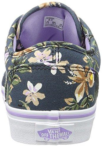 Vans Wm Atwood, Scarpe da Ginnastica Basse Donna Blu (Floral Dark Blue/lavender)