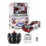 AimdonR RC Stunt Car,360 ° Rotazione Telecomando RC acrobazie Parete Arrampicata Rocket Toy Car Gift Rot
