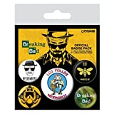 Breaking Bad Los Pollos Hermanos 5-Button Badge Pack