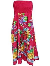 Universal Textiles Ladies/Womens Heather Printed 2 In 1 Summer Dress/Skirt