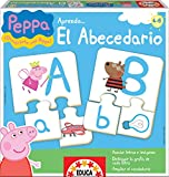 Educa Borrás Peppa Pig- I Learn the Alphabet, Educational Game 15652