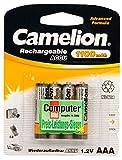 4x Camelion AAA Akku für Telefon Siemens Gigaset S810 S810A S810H S820 S820A S820H SX810 A400a Duo SX455 S45 S670 S675 SX670 SX675 S455 S645 SX450