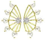 JDX 18K AD Star Earcuff Earrings For Wom...