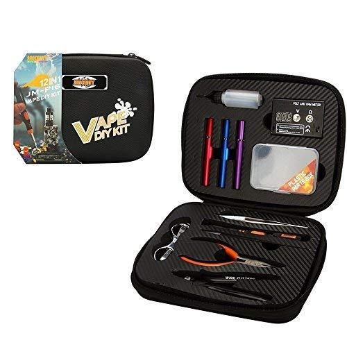 JAKEMY 12-in-1elektronische Zigarette DIY Tool Kit, Spitzzange + Drahtschneider + + Schere +...