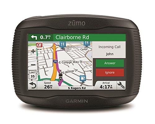 Garmin Zumo 345 LM Western - Navegador GPS con mapas por vida (pantalla de 4