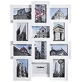 Best Collage Photo Frames - VonHaus 12 Aperture Hanging Wooden Photo Frame Review