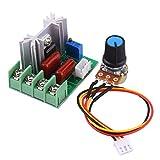 AC 50-220V 2000W SCR Elektrischer Spannungsregler Modul Baugruppe Ausgangsspannung Stabilisator Transformator Schalter Temperatur / Motor Drehzahlregler Licht Dimmer