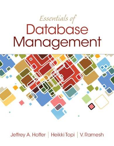 Essentials of Database Management (English Edition) por Jeffrey A. Hoffer