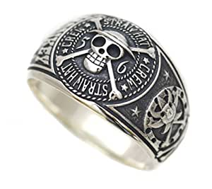 No. 15: gangs silver ring size of One Piece (japan import)