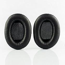 Oreillettes/Coussinets de Remplacement pour Casques Bose AE2, AE2w Circum-Aural Bluetooth, Bose Circum-Aural SoundTrue, Bose Circum-Aural SoundTrue 2 et Bose Circum-Aural Soundlink 2