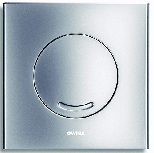 WISA XS Excellent WC Bedienungsplatte Argos SU matt chrom