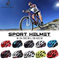 iBaste Outdoor Fahrradhelm für Herren Damen Mountainbike Helm Bike Helm Erwachsene Radhelm Schutzhelm von iBaste Outdoor
