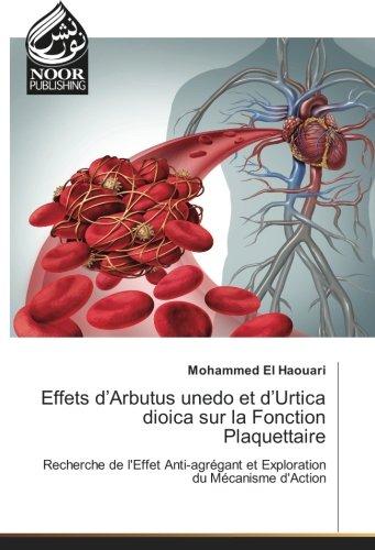 Effets d'Arbutus unedo et d'Urtica dioica sur la Fonction Plaquettaire