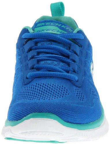 Skechers  Flex AppealSweet Spot, basket femme Bleu - Blau (BLAQ)