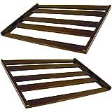 Spares2go universel Bouteille Rack Shelf Insert pour cave à vin Cooler Cabinet réfrigérateur (lot de 2)