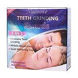 Zähneknirschen Zahnschiene Gebißschutz, Aufbissschienen Zahnschutz Gegen Schnarchen, Hilft bei Zähneknirschen und Schlafapnoe, beugt Schnarchen vor, einfach zu verwenden, anpassbar und formbar