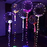 Palloncini luminosi trasparenti TOYMYTOY LED Palloncino con Luce Catena 3M di 36 pollici