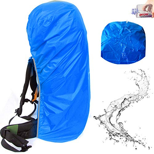 Joy Walker Wasserdichter Rucksack Regenschutz für Rucksack (55-70 l, 70-90 l), blau, XXL (for 70-90L Backpack)