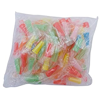100 Stk. Hygiene Mundstücke bunt (außen) - Shisha Tabak