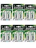 6 X Energizer Plus Power D 2500mAh Größe 1,2 V wiederaufladbare Batterie HR-FABSPOWER 20-7638900138757
