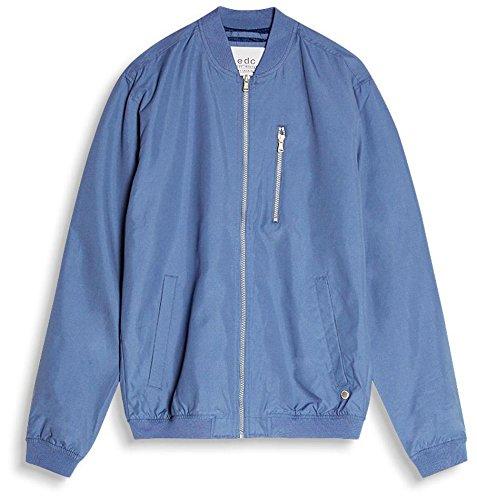 edc by Esprit, Bomber Uomo Blu (Grey Blue 420)