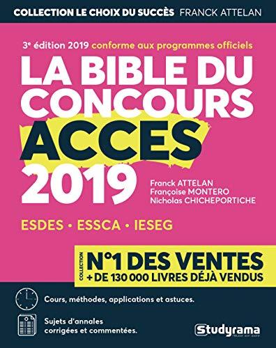 La bible du concours Accès par Franck Attelan