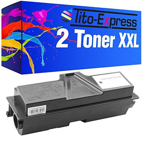 2x Tito Express platinumserie XXL Toner compatibile con Kyocera Mita TK 1130
