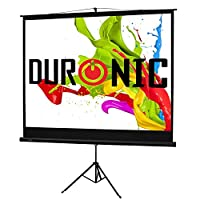 Duronic TPS Black Tripod Projector Screen