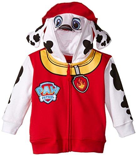 Paw Patrol Marchall Rot Kleinkind Kostüm Hoodie (Kleinkind (Kostüme 2t)