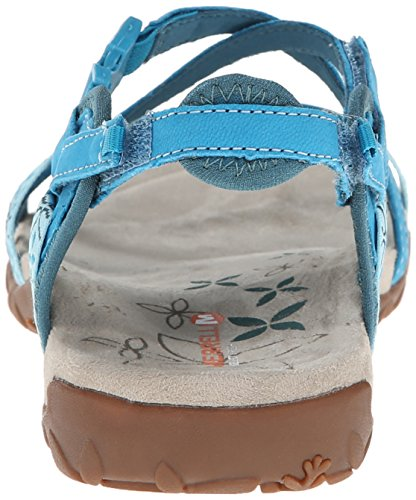 Merrell - Terran Lattice, sandali  da donna (Turquoise (Algeirs Blue))