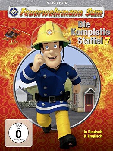 feuerwehrmann sam die komplette staffel Feuerwehrmann Sam - Die komplette Staffel 7 [5 DVDs]