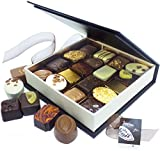 SIGNATURE BOX LUXURY ENGLISH CHOCOLATES SELECTION 300g - Luxury Chocolates for Occasions & Celebrations for Easter Christmas Mothers Day Birthday and Anniversary by Eden4chocolates