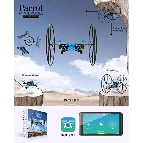 Parrot Rolling Spider Minidrone blau - 16