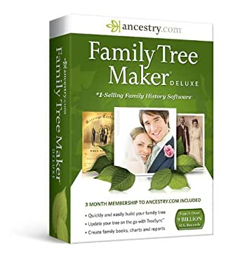Family Tree Maker Deluxe Edition [Download]