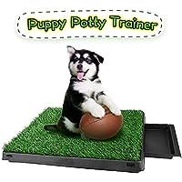 Memoline Puppy Training Pad Indoor Dog Toilet, Dog Potty Grass Dog Training Mat, Removable