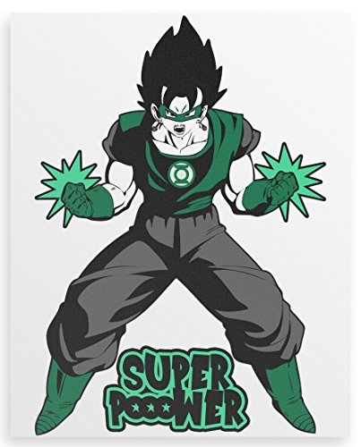 Super Power Canvas print 20x24