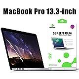 LENTION Protecteur d'écran Anti-rayures pour MacBook Pro (13 pouces, mi-2010 à mi-2012) Modèle A1278, LENTION HD Protecteur d'écran 13.3 pouces, Dureté 4H, Facile à Installer