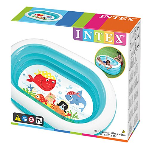 Intex 57482NP – Planschbecken Oval Whale (Modell Sortiment)