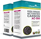 All Pond Solutions Activated Carbon Filter Media for Aquarium Fish Tanks/Ponds, 500 g