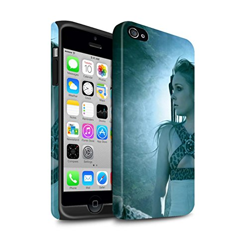 Officiel Elena Dudina Coque / Matte Robuste Antichoc Etui pour Apple iPhone 4/4S / Pack 16pcs Design / Les Animaux Collection Félins/Léopard/Guerrier
