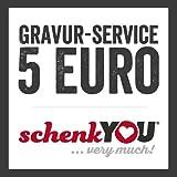 schenkYOU® Service - Rückseitengravur für Ihr Unikat - NUR FÜR LEDER - NICHT MÖGLICH BEI HOLZ